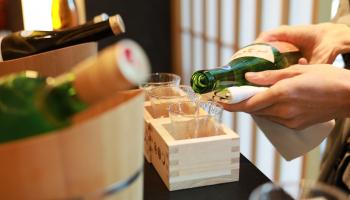 星のや東京で提供される日本酒