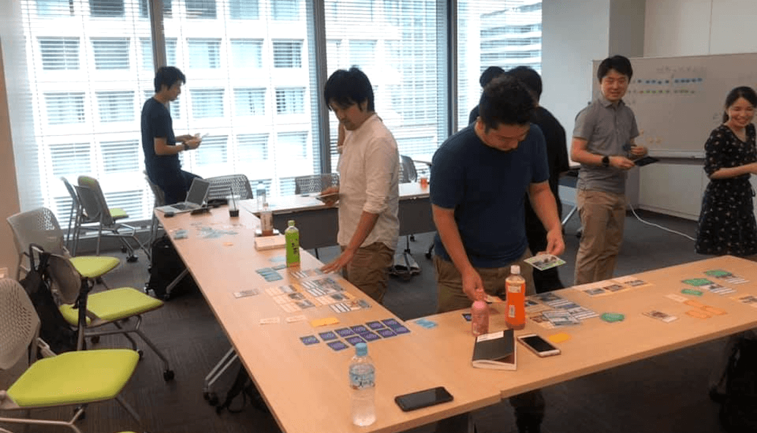 「SDGs de 地方創生カードゲーム大会」の様子