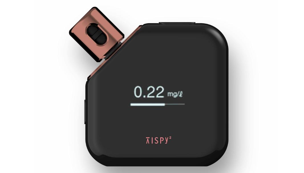 学習型IoTアルコールガジェット「TISPY2」(ティスピー2)
