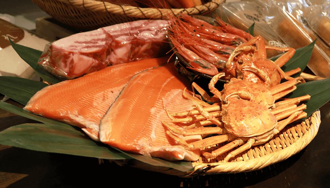 「越前福井フェア」の食材