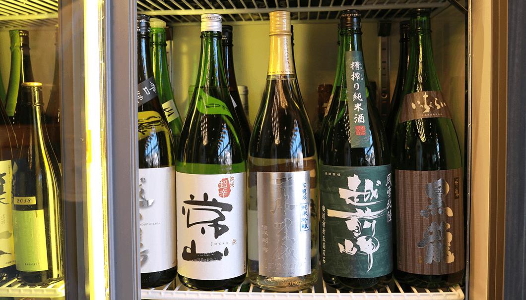「LDH kitchen IZAKAYA AOBADAI」の日本酒