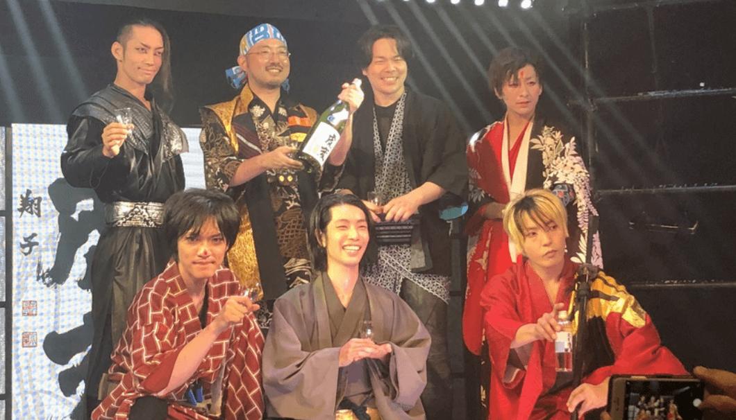 日本酒とナゴヤカブキの異色のコラボ