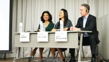 「日本酒輸出戦略ビジネスサミット2019」のパネルディスカッション