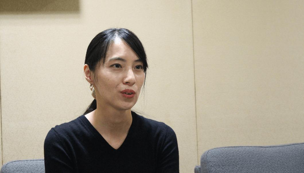 大関商品開発部商品開発グループの溝渕彩乃さん