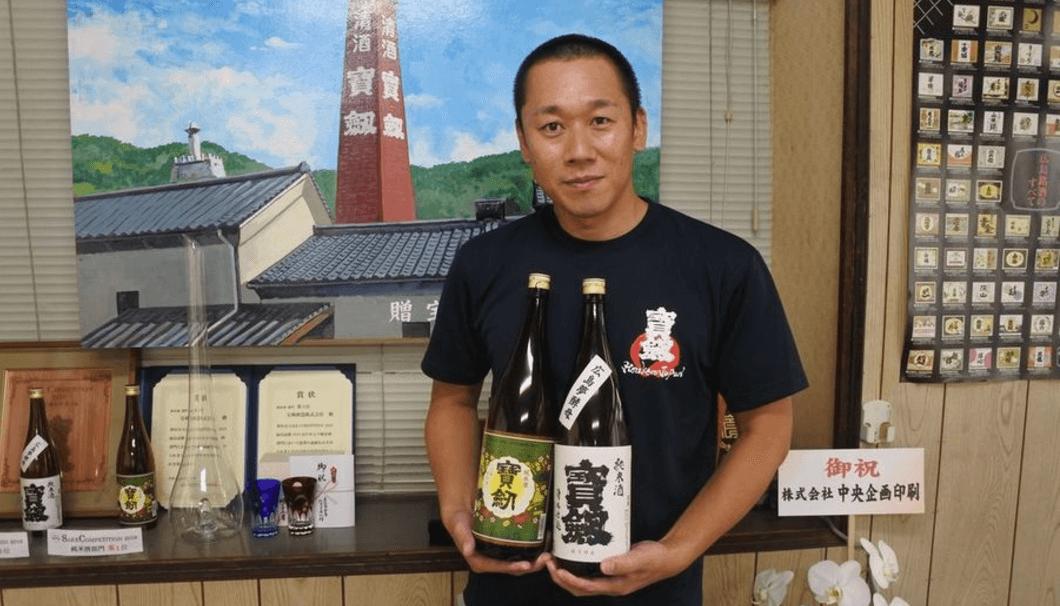 宝剣酒蔵の蔵元杜氏・土井鉄也さん
