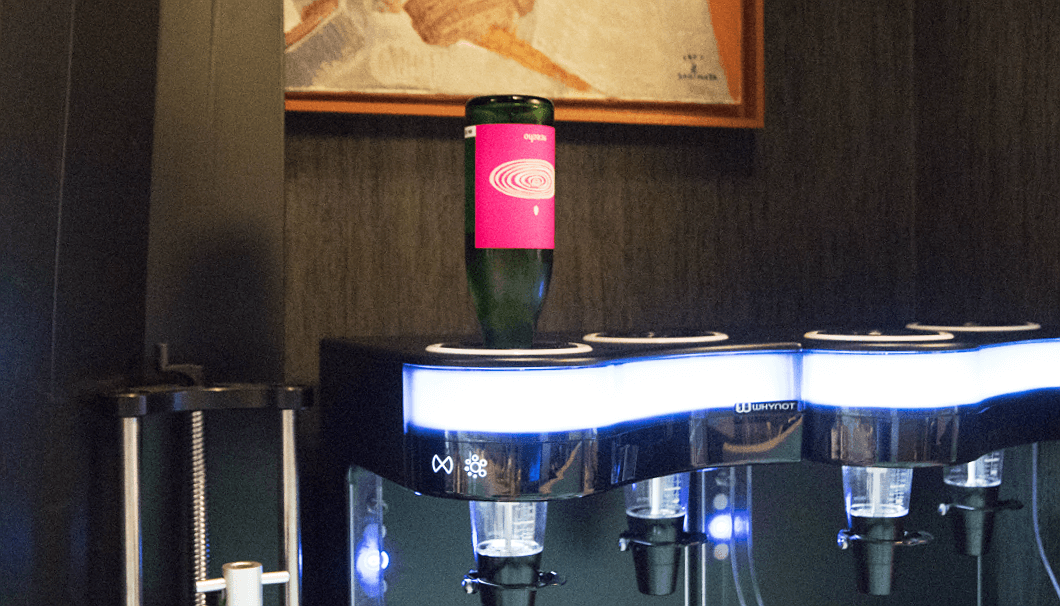 日本酒専用の冷蔵セイバー
