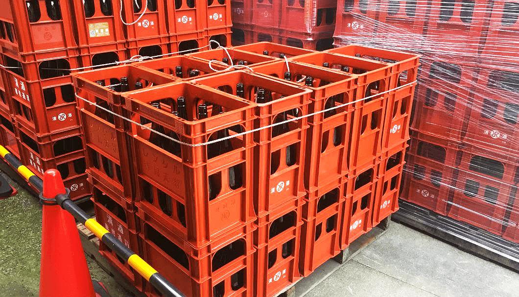プラスチック搬送用箱(通称:P箱)