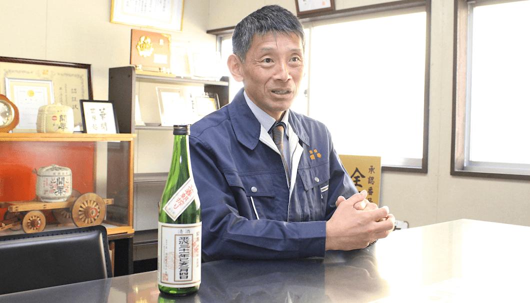 第一酒造 代表取締役社長・島田嘉紀さん