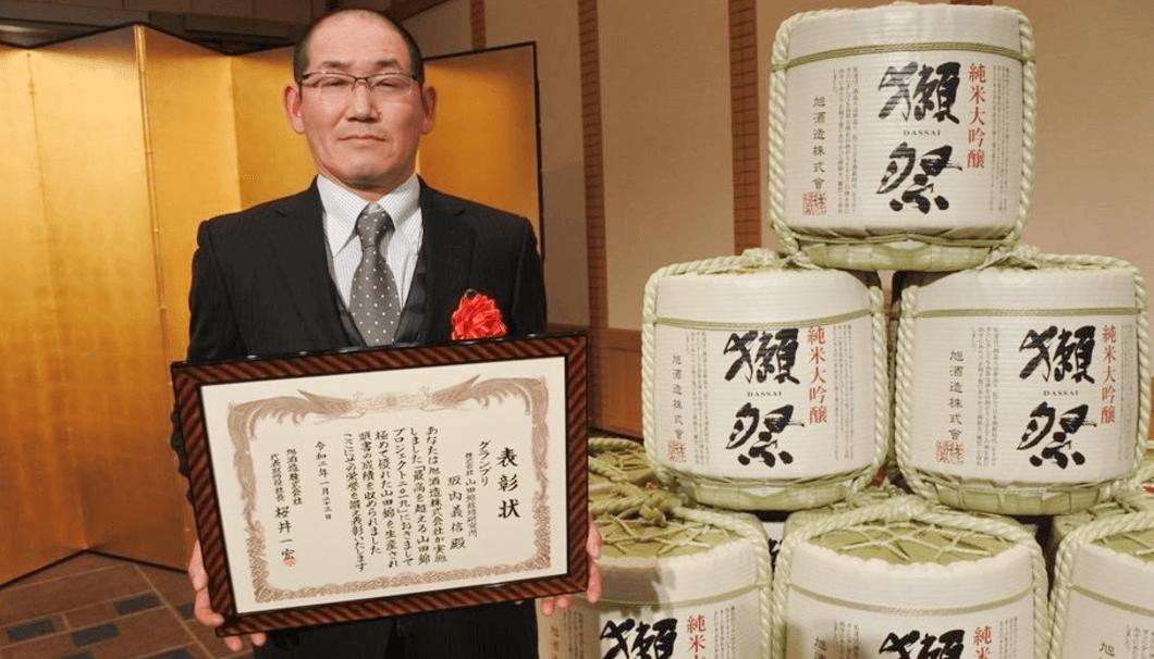 山田錦栽培研究所の坂内義信さん