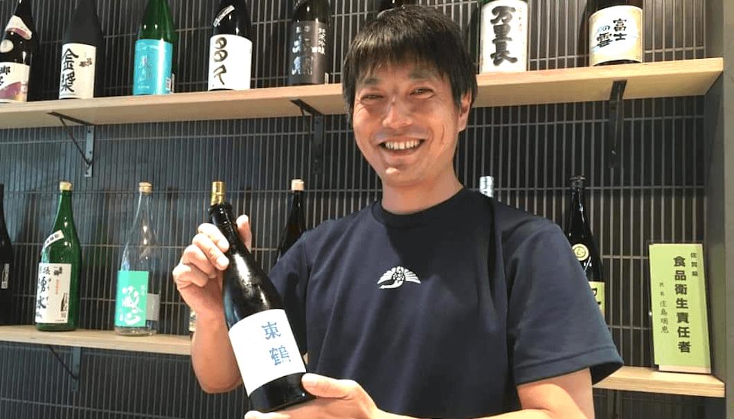 東鶴酒造 代表・野中保斉さん