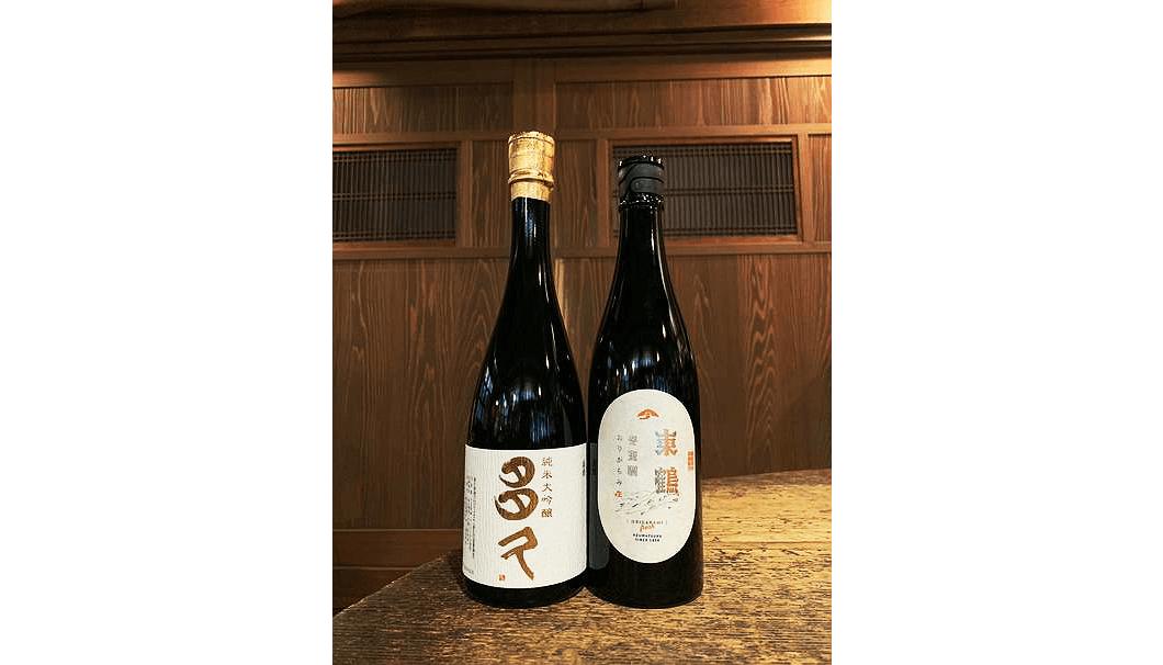 東鶴酒造の新酒(写真提供:旭屋)