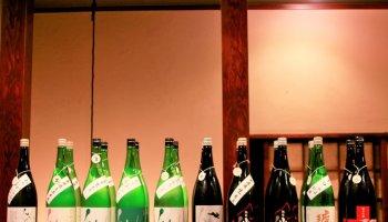 大阪の日本酒仙介のラインナップ