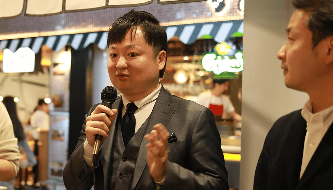 未来日本酒店の代表・山本祐也氏