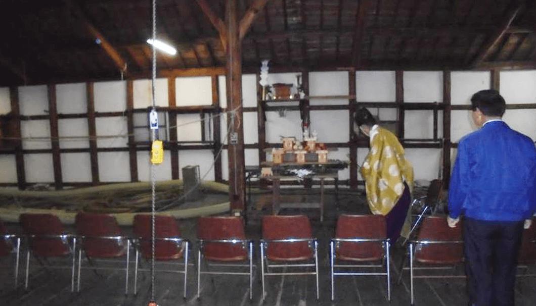近江酒造 蔵のお清め