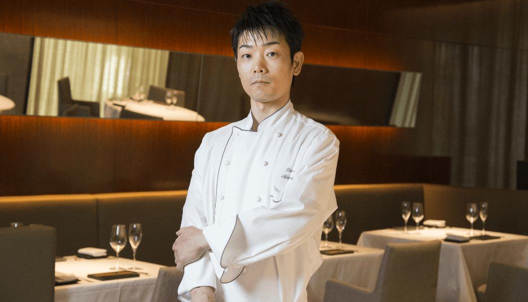 フレンチレストラン「カンテサンス」の岸田周三さん