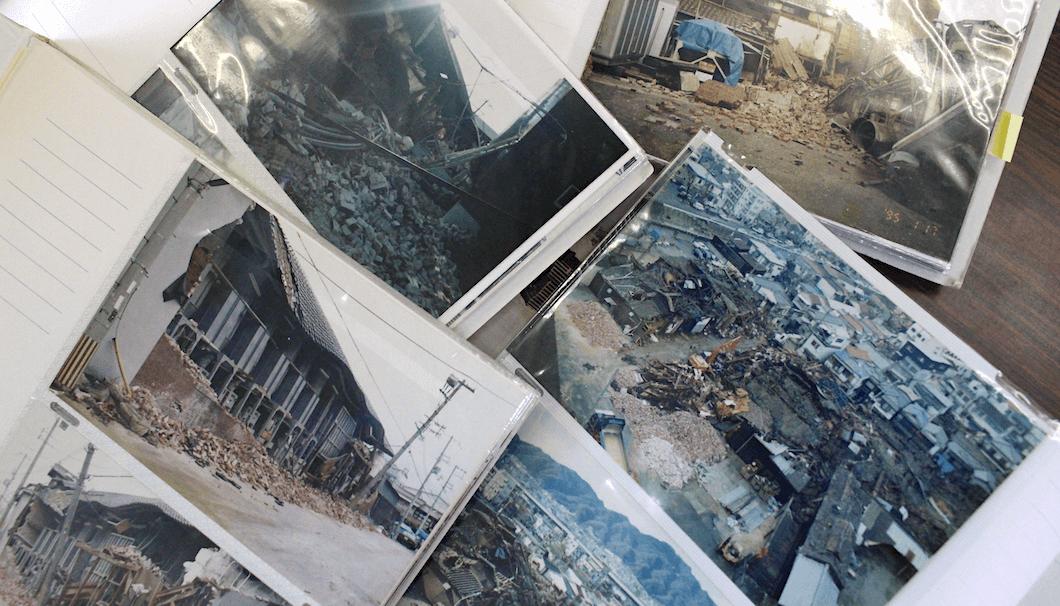 沢の鶴の震災当時の写真