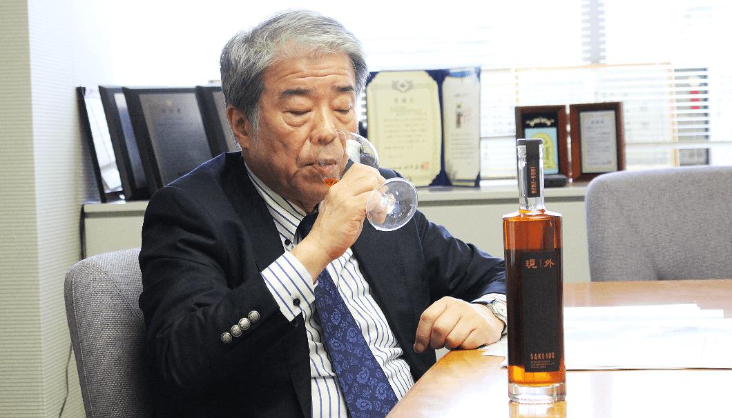 「現外」を味わうラジオ関西社長・桃田武司さん