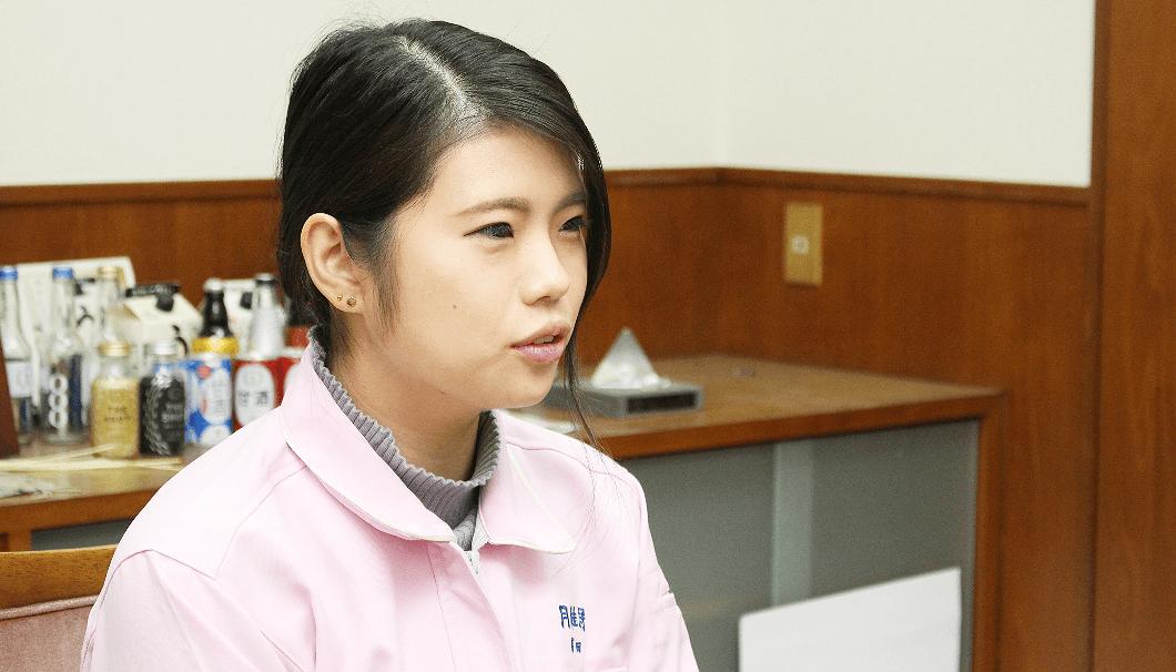 月桂冠総合研究所 製品開発課の冨田麻理絵さん
