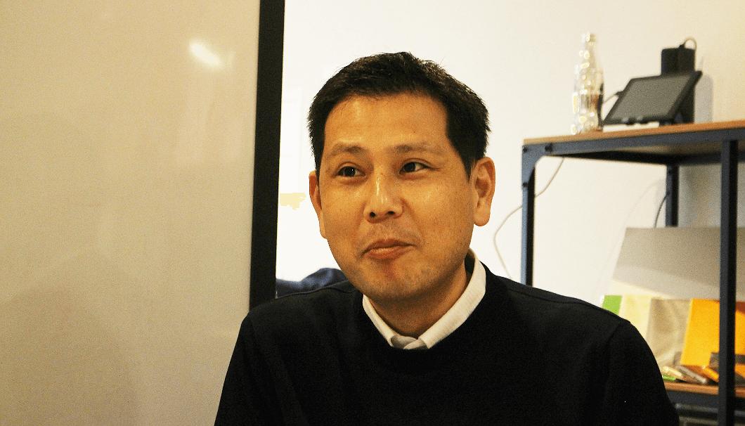 沢の鶴 マーケティング室次長の宮﨑紘二さん
