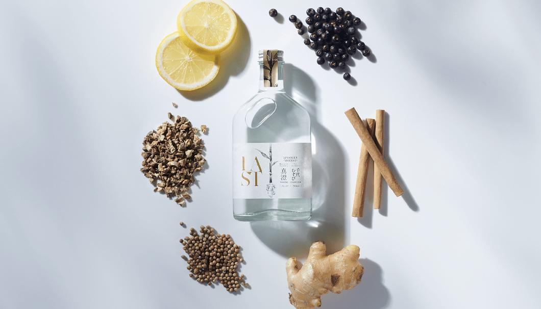 酒粕をリユースし、ジンをつくる世界初の循環型エシカル・ジン・プロジェクト第一弾の「LAST」