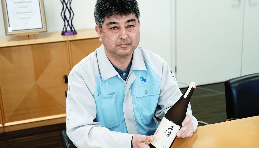 製造部部長 安澤義彦さん
