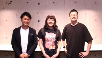 今西将之さん、千葉麻里絵さん、生駒龍史