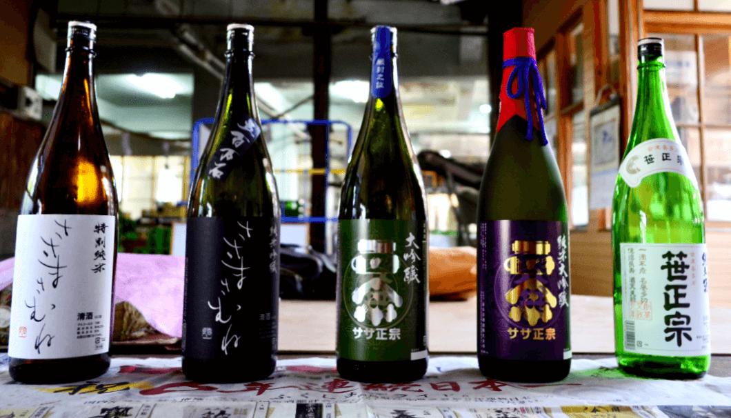 笹正宗酒造 商品