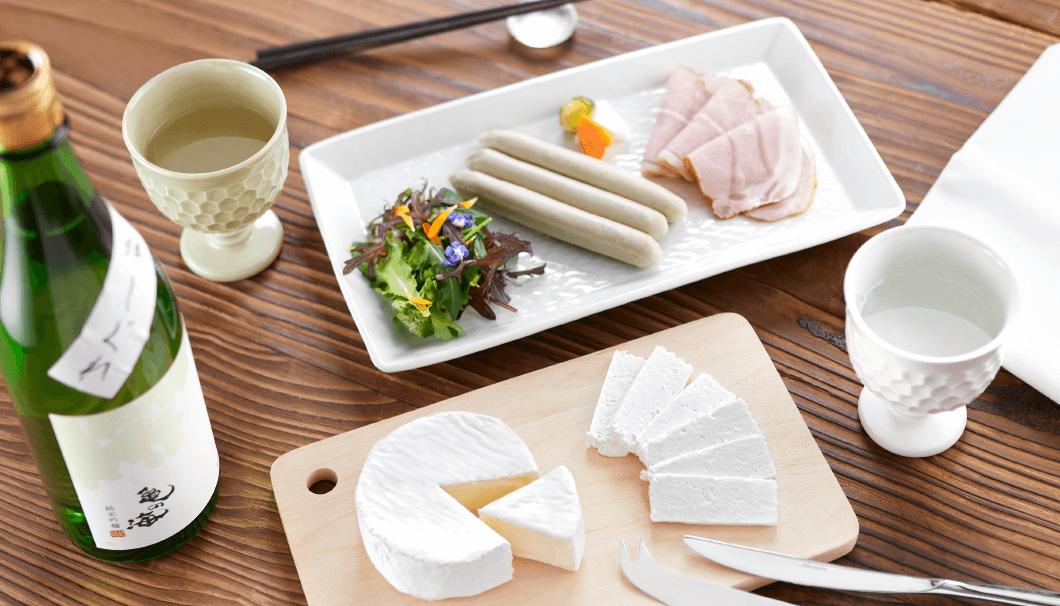「佐久の日本酒がもっと美味しくなる、 いつもの家飲みを格上げする酒器と酒菜(さかな)」企画