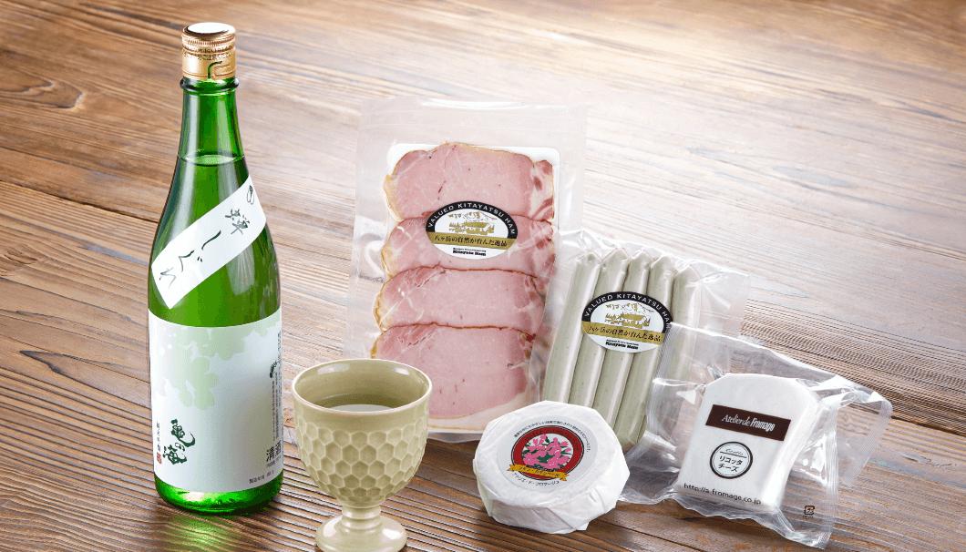佐久13蔵のお酒や佐久地域の食材、酒器等を購入できる「佐久の酒と食の研究所(通販サイト)」を構築し、佐久の食文化の魅力を深く追求し、継続的に佐久地域の食の生産者の応援を続けていこうというプロジェクト