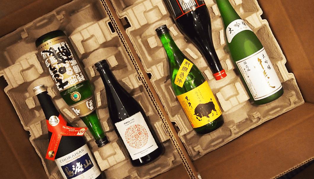 True Sakeのパッキングされた日本酒