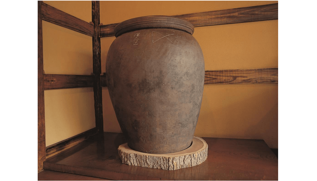 甕を用いた酒造り