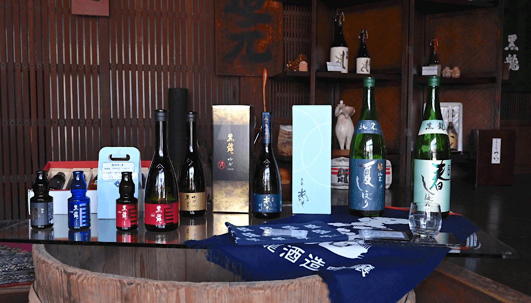 黒龍酒造の商品