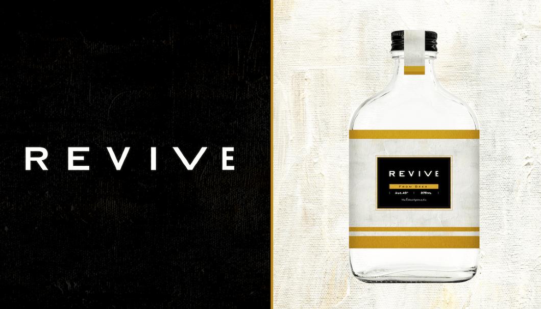 エシカル・スピリッツ x バドワイザー x 月桂冠3社が協業、余剰ビールを特製ジンとして蘇らせた「REVIVE」
