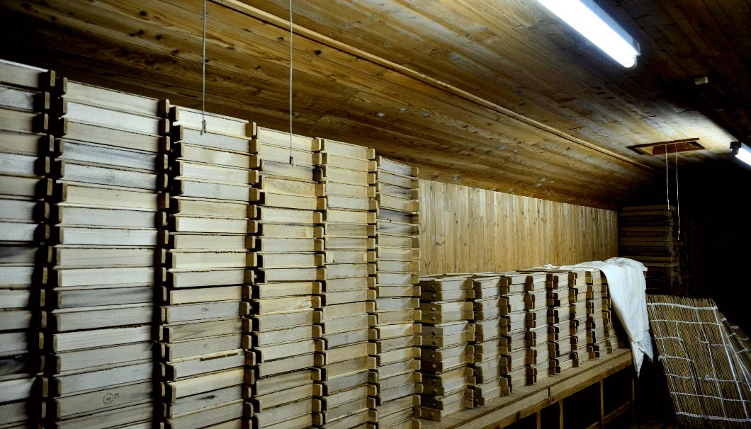 吉野杉の麹蓋