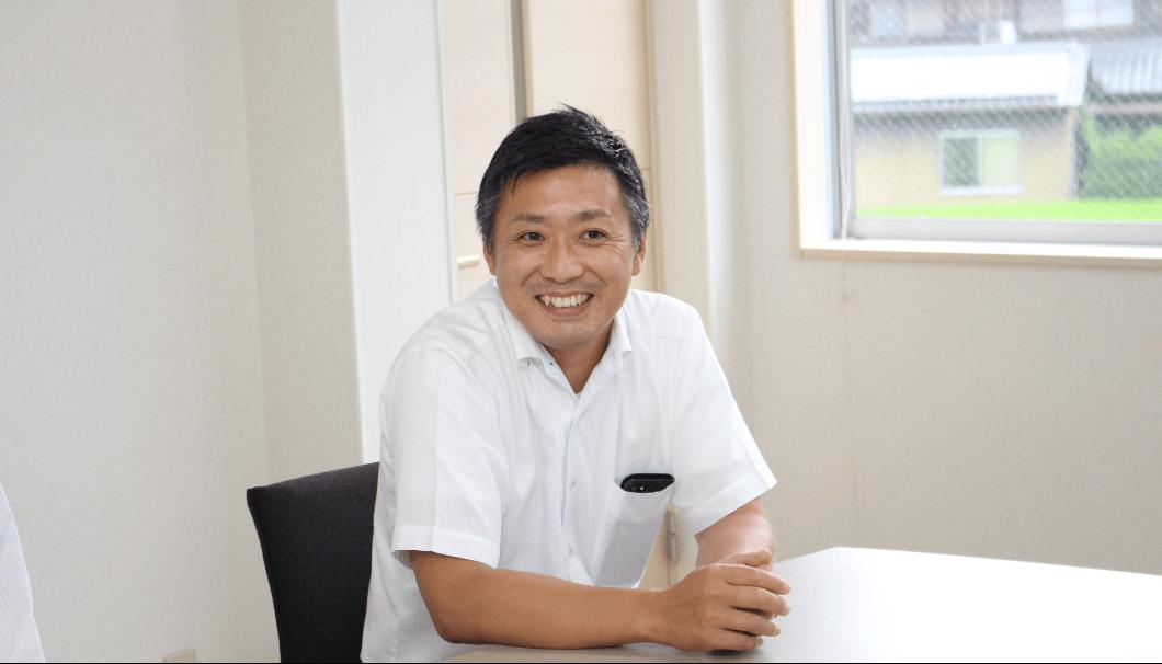藤本糧穀 代表取締役の藤本一郎さん
