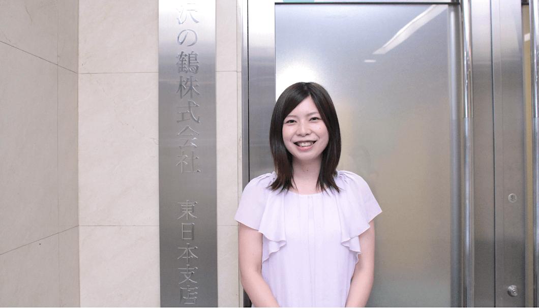 東日本支店 販売課の柏木美紗さん