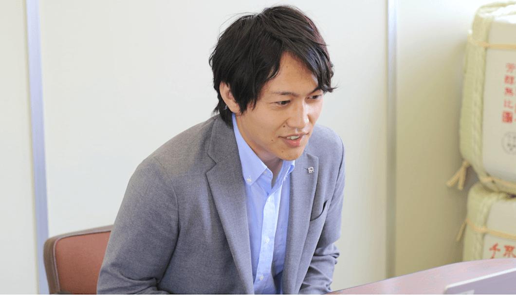マーケティング室 副主任の青木崇史さん