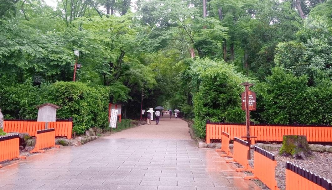 下鴨神社の「糺の森」