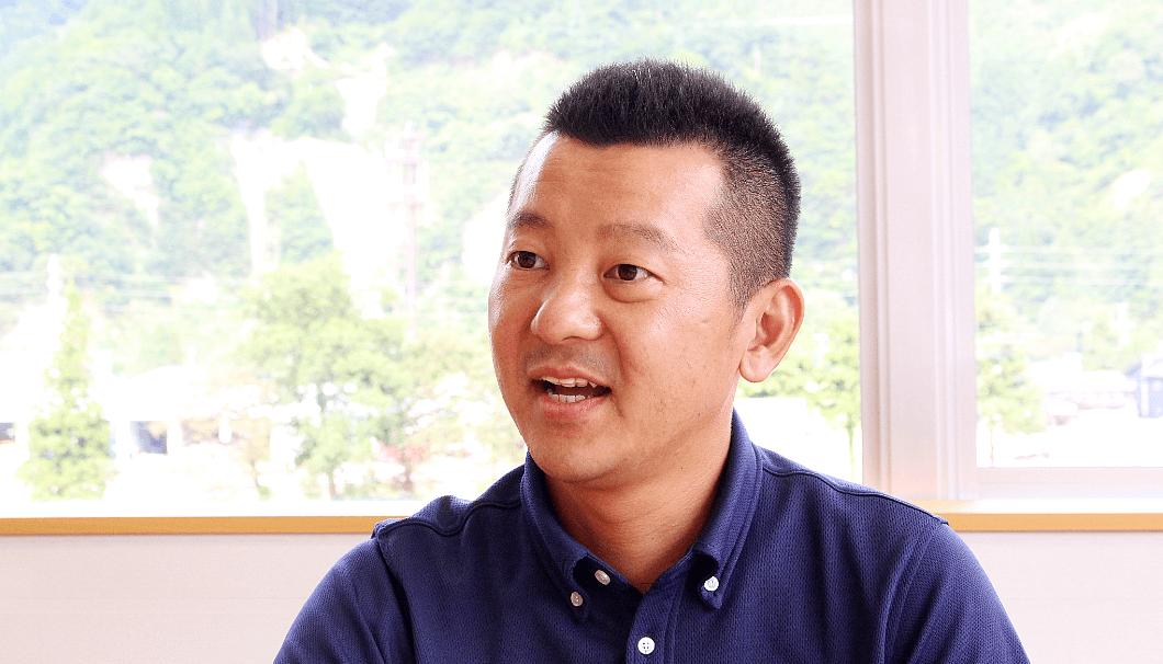 白瀧酒造 代表取締役社長 高橋晋太郎氏