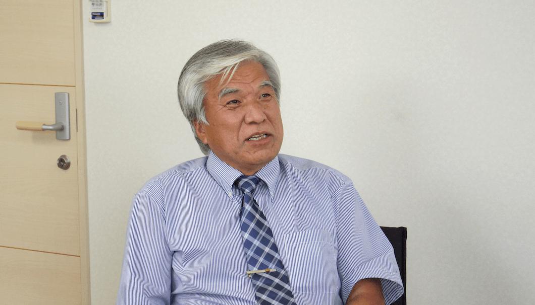 NPO法人「とんとん」理事長の江藤勇さん