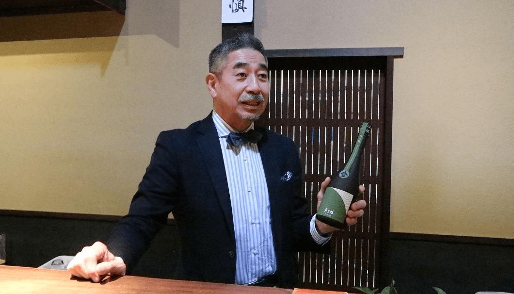 増田德兵衞商店第14代当主増田德兵衞さん