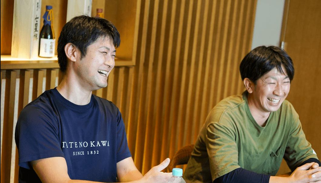 佐藤さんと長谷川さん