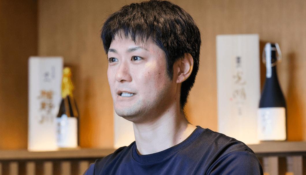 製造部係長の佐藤秀雄さん