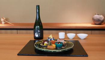 「ふしきの」の日本酒と料理