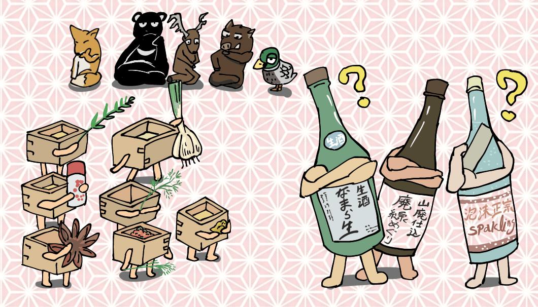 日本酒とスパイス