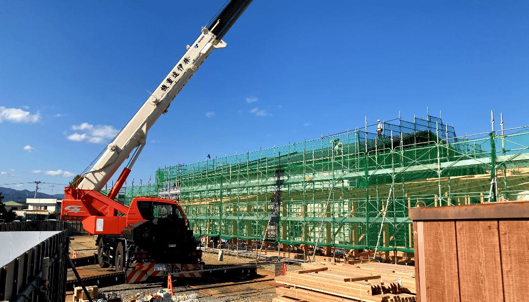 浪江に建設中の新しい酒蔵(2020年11月現在)