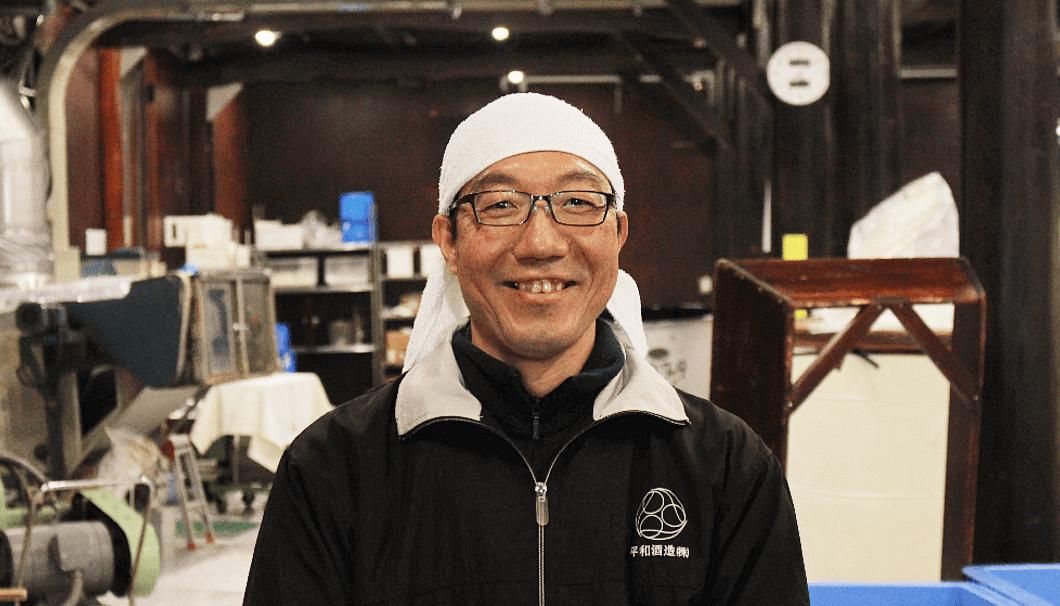 杜氏の柴田英道さん