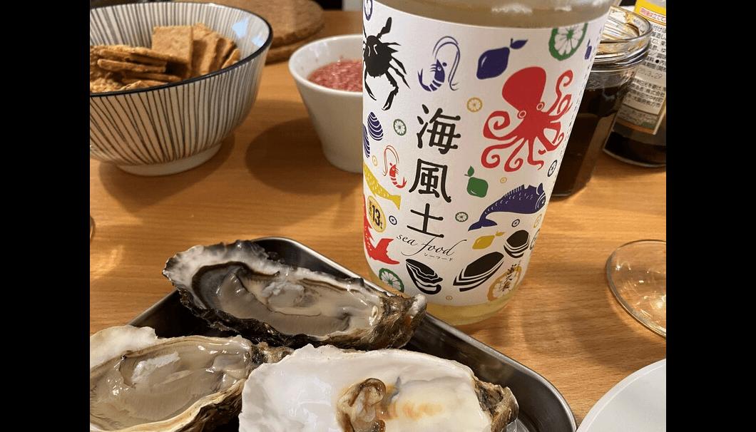 シーフードと牡蠣
