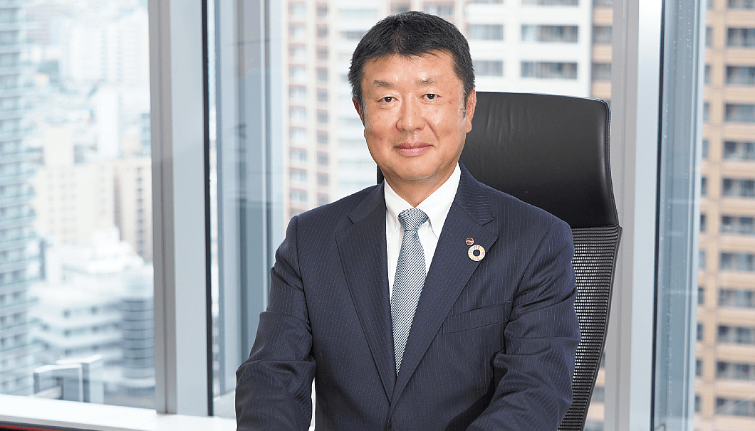 東洋製罐グループホールディングス 代表取締役社長の大塚一男氏