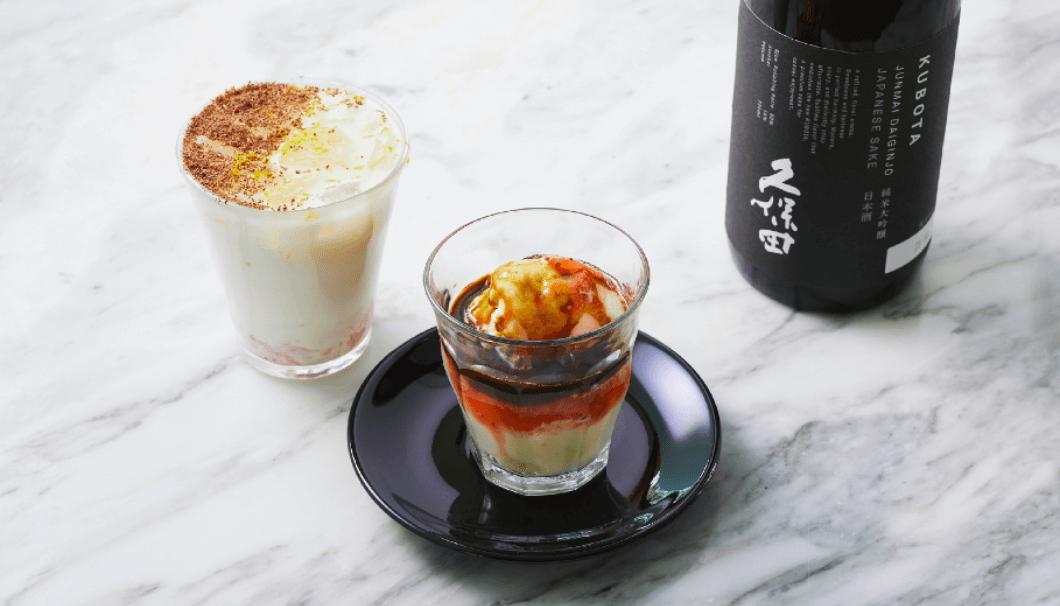 「久保田 純米大吟醸」と旬のいちごを使用した限定メニューSAKE & DOLCE